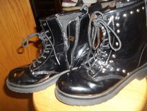 Girls Black Boots size 5 in Camp Lejeune, North Carolina