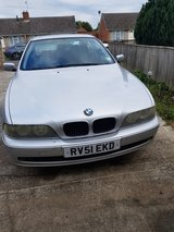 BMW 520 in Lakenheath, UK