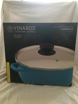 Die Cast Aluminum Casserole with Ceramic Coating by Vinaroz Cookware 4.2 QT in Nellis AFB, Nevada
