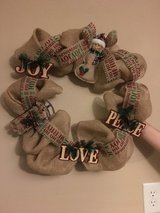 Christmas Wreath in Fort Leonard Wood, Missouri