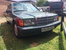 Mercedes 190d diesel auto in Lakenheath, UK
