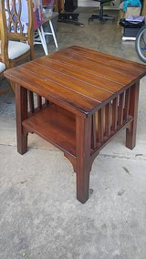 tapered leg end table or TV stand in Perry, Georgia