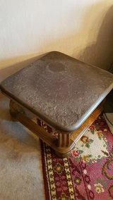 coffee table with slate top in Spangdahlem, Germany