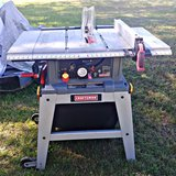Craftsman laser table saw in Fort Campbell, Kentucky