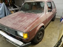 1984 volkswagen rabbit diesel in Elgin, Illinois