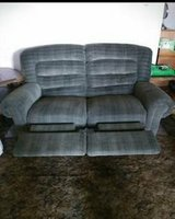 FREE: DARK GREEN Double Reclining LOVESEAT in Vacaville, California