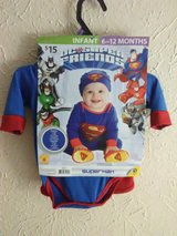 Superman costume 6-12 months NWT in Lawton, Oklahoma