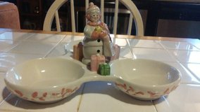 Avon Lady Christmas Dish in Cherry Point, North Carolina
