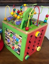 Wooden Activity Cube Zoo Play Center in Bolingbrook, Illinois
