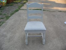 Ladderback chair in Fort Leonard Wood, Missouri