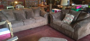 Ashley Microfiber Matching Couch and Loveseat in Leesville, Louisiana