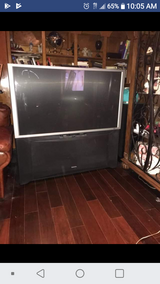 "57"" HITACHI TELEVISION ON WHEELS in Kingwood, Texas"