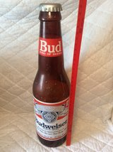 OverSized Budweiser Bottle (Plastic) in Warner Robins, Georgia