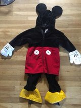 Disney store Mickey Mouse costume in Travis AFB, California