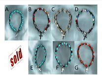 BUY ONE GET THE SECOND HALF OFF One Decade Stretch Rosary Bracelet in St. Louis, Missouri