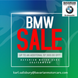 BMW END OF YEAR SALE in Grafenwoehr, GE