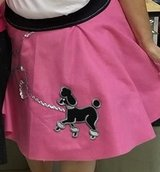 Pink Poodle Skirt in Kingwood, Texas