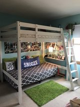 PENDING PICK UP Full Size Loft Bed in Naperville, Illinois