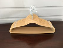 NEW / UNUSED 25 Velvet Huggable / No Slip Men's Suit Hangers (Camel color) in Naperville, Illinois