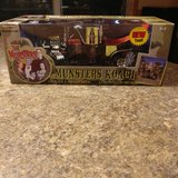 MUNSTER COACH DIE CAST 1/18 SCALE ! NEVER OPENED in Joliet, Illinois