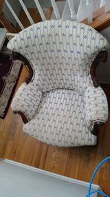 Traditional Decorative  Fabric Accent Arm Chair in Shorewood, Illinois