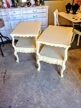 pair of nightstand / end tables in Cherry Point, North Carolina