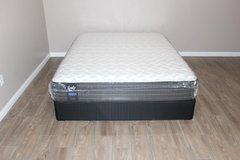 Sealy Posturepedic Performance- (queen Size)  FREE DELIVERY in Spring, Texas