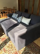 Pickup Pending: Couch with pullout and under storage in Ramstein, Germany