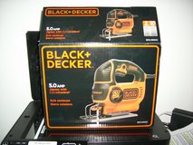 USED ONCE BLACK AND DECKER VARIABLE SPEED ORBITAL JIG SAW in Bellevue, Nebraska