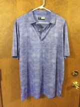 Callaway Golf Shirt-opti-dri Blue Polo Shirt (like new) in Naperville, Illinois