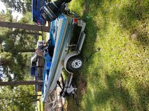 Boat 15 ft avenger bass boat and trailer in Leesville, Louisiana