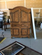 Large Rustic Pine Armoire, entertainment center in Chicago, Illinois