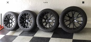 "20"" Dodge AWD Charger/ AWD Challenger Wheels and Tires in Joliet, Illinois"