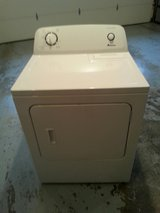 Amana electric dryer- white in Lockport, Illinois