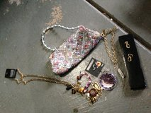 Purse, earring and necklaces in Joliet, Illinois