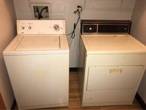 washer and electric dryer in Oswego, Illinois