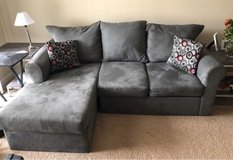 grey couch with chaise lounge in Virginia Beach, Virginia
