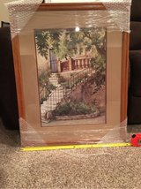 picture- double matted- framed in St. Charles, Illinois
