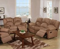 reclining sofa and loveseat set in San Diego, California