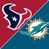 (4) Texans vs Miami Dolphins 3rd Row/Aisle Seats - Thurs, Oct 25 - Call Now! in Baytown, Texas
