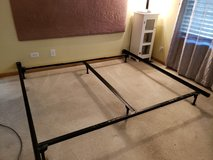 King Size Metal Bed Frame $25 in Aurora, Illinois