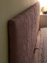 King Size DIY Upolstered Headboard (hangs on wall) in St. Charles, Illinois