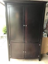 Espresso (Dark Wood) Entertainment Armoire in St. Charles, Illinois