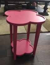 Pink Table in Travis AFB, California
