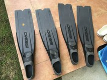 Cressi Sub free dive Finns size 8-9 or 7-8 in Okinawa, Japan