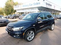 2016 Volkswagen Tiguan SEL 4 Motion / Apple Car Play & Android Auto in Ramstein, Germany