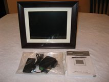 Coby DP1052 10.4-Inch Digital Photo Frame with MP3 Player (Wooden Frame) in Fort Leonard Wood, Missouri