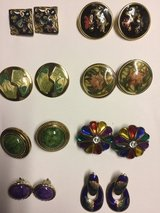 Various Design Earrings 3/$1 (clip on & pierced) in Eglin AFB, Florida