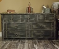 Refinished 7 drawer dresser in New Lenox, Illinois