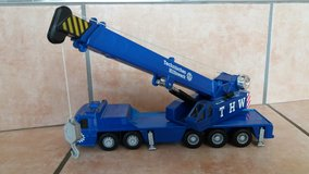 Maisto Crane Truck Technical Relief Unit 1/50 in Spangdahlem, Germany